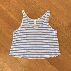 H&M striped tank size S